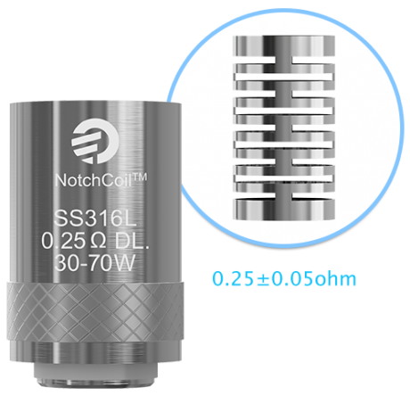 Испаритель NotchCoil 0.25ohm DL